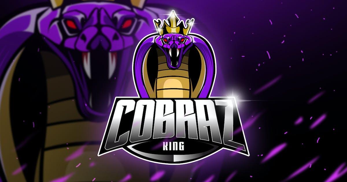 Download Cobra King - Mascot & Esport Logo by aqrstudio