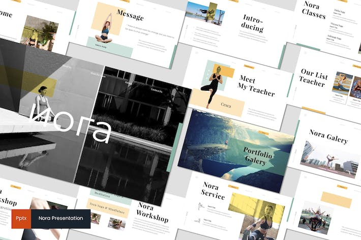 Thumbnail for Nora 2 - Powerpoint Template