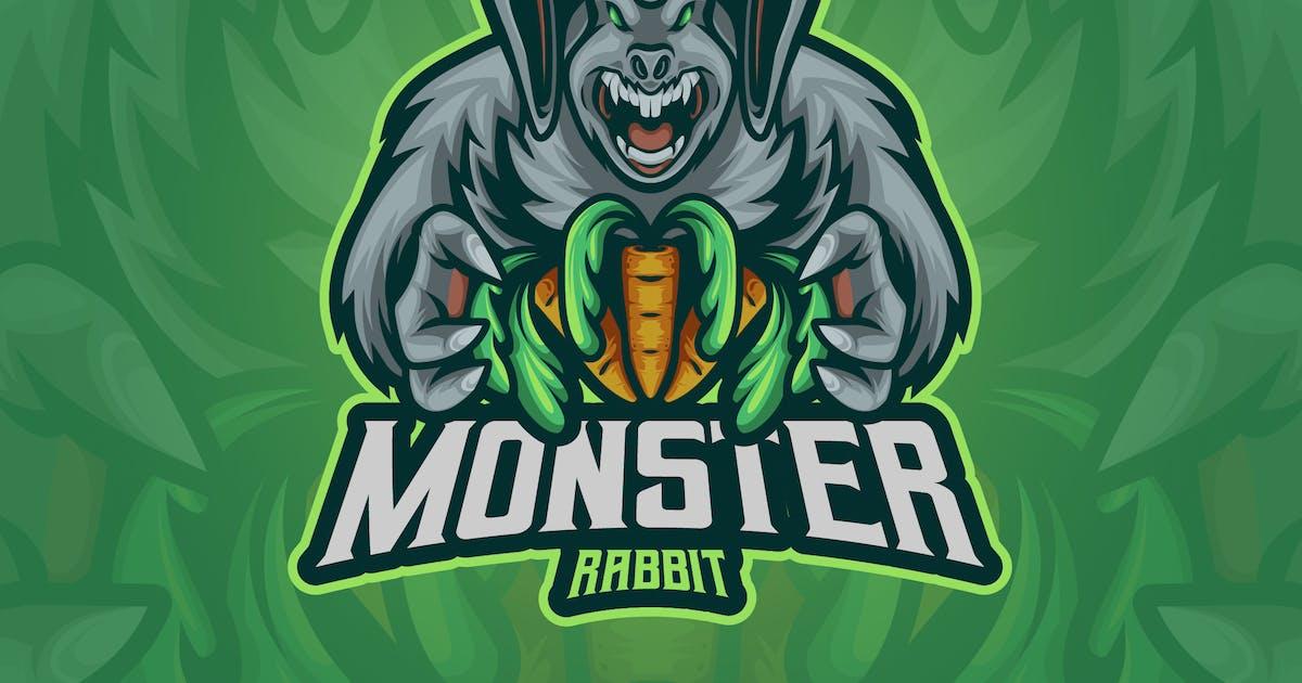 Download Monster Rabbit Mascot Logo by erix_ultrasonic