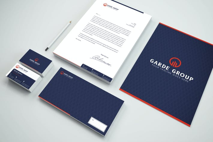 Thumbnail for Package Branding Identity & Stationery