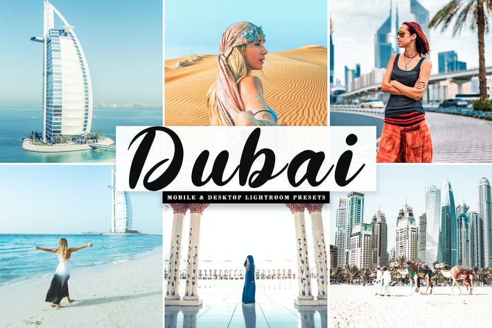 Thumbnail for Dubai Mobile & Desktop Lightroom Presets