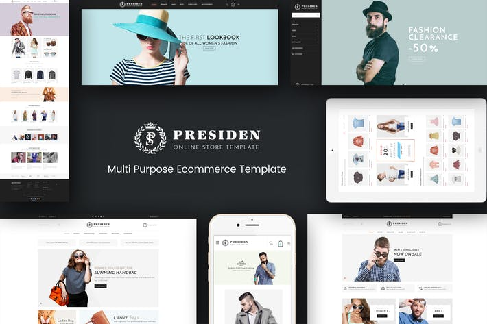 Thumbnail for Presiden - Multistore Responsive Opencart Theme