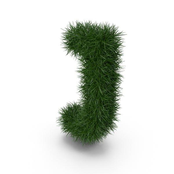 Трава буква J