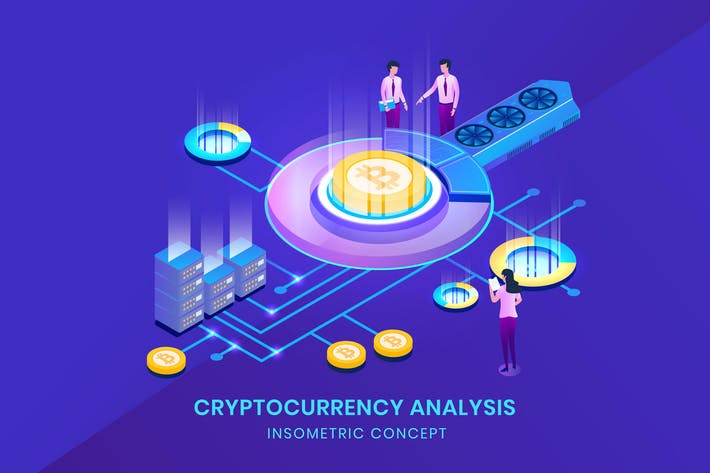 Thumbnail for Cryptocurrency Bitcoin Analysis - Insometric 3D