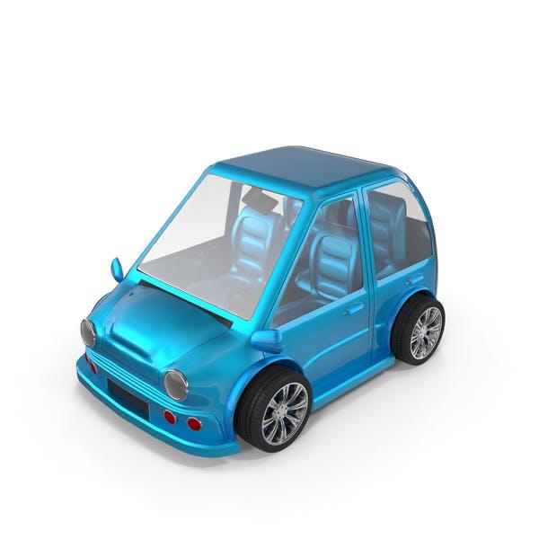 Thumbnail for Cartoon Car Blue
