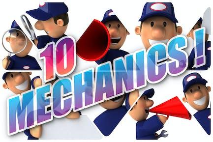 10 lustige Mechaniker!