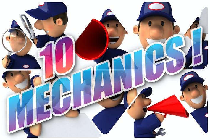 Thumbnail for 10 fun Mechanics !