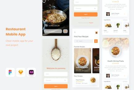 Restauant Mobile app - Uixasset