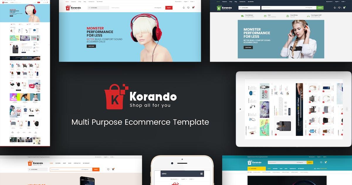 Korando - Theme for WooCommerce WordPress by roadthemes