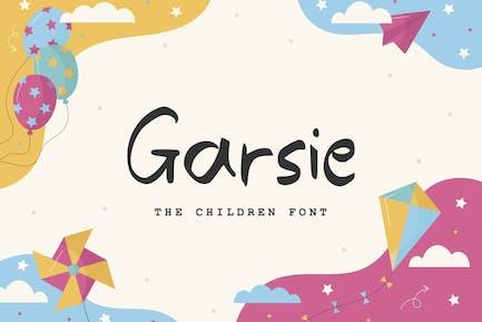 Garsie - La fuente de los niños
