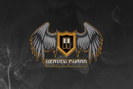 Heaven Guard - Wings Mascot & Esport Logo V.10