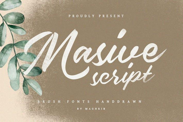 Thumbnail for Masive Script