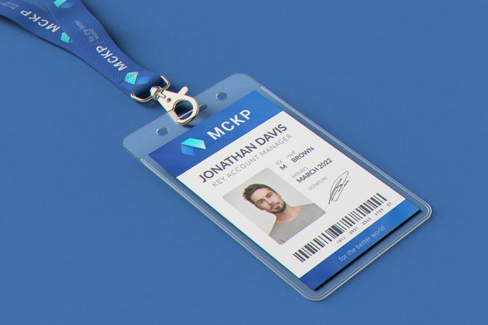 Thumbnail for Lanyard / ID Card Holder MockUp