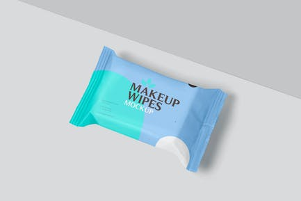 Makeup Wipes Mockups