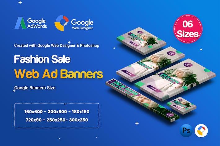Thumbnail for C07 - Fashion Sale Banners GWD & PSD