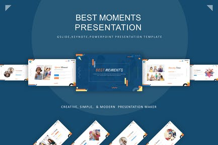 Best Moment Presentation Template
