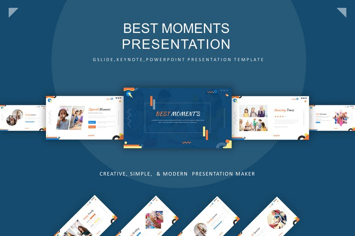 Thumbnail for Шаблон презентации лучшего момента