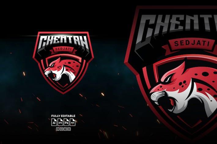 Cheetah Logo Template