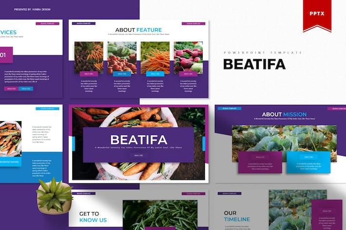Beatifa | Шаблон Powerpoint