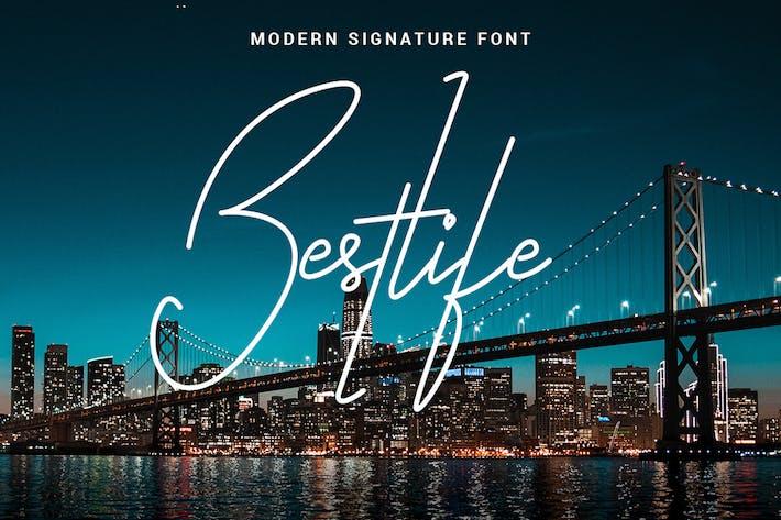 Thumbnail for Bestlife - Fuente de una sola línea