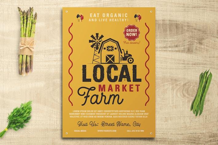 Thumbnail for Local Farm Market Flyer