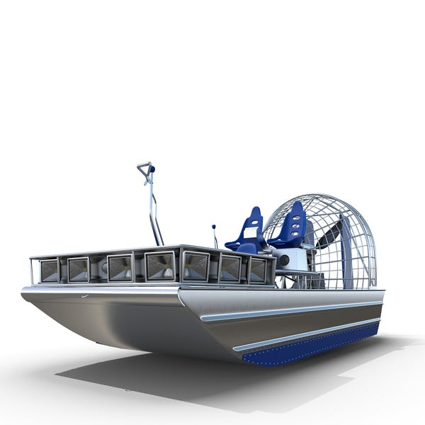 Blue Airboat