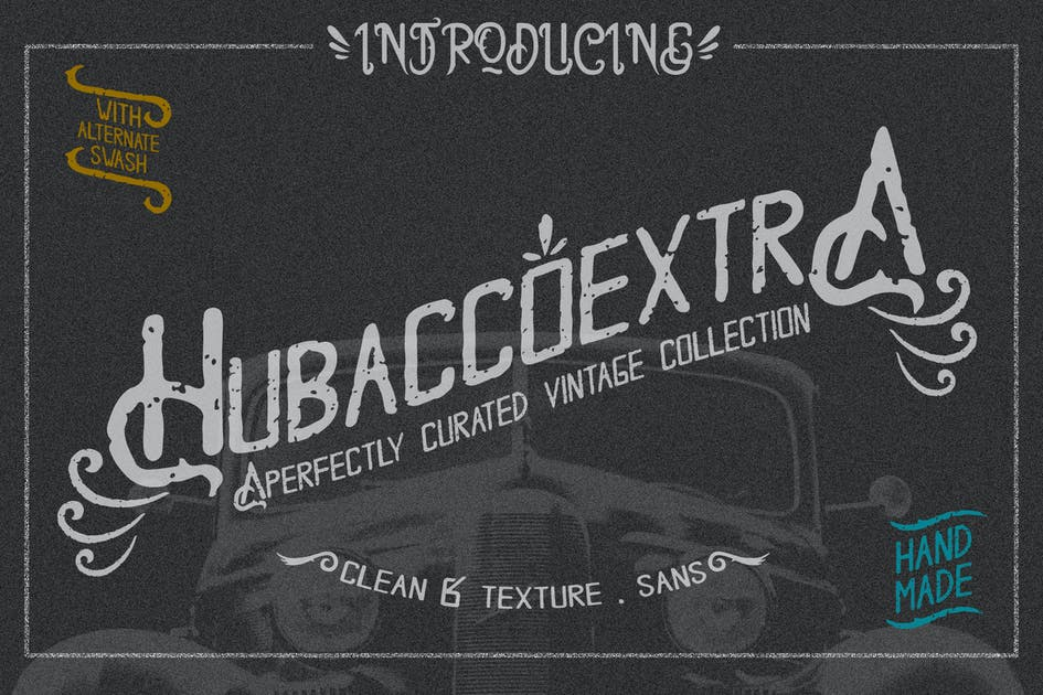 Download Hobacco Extra Vintage Type by Rometheme