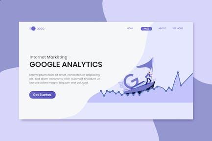 Google Analytics Marketing Landing Page