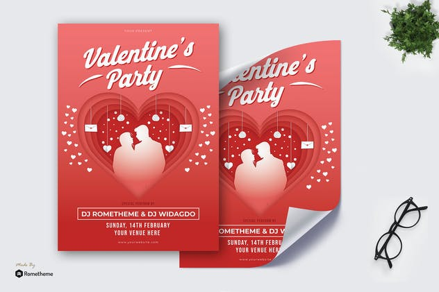 Valentine's Party - Poster KF