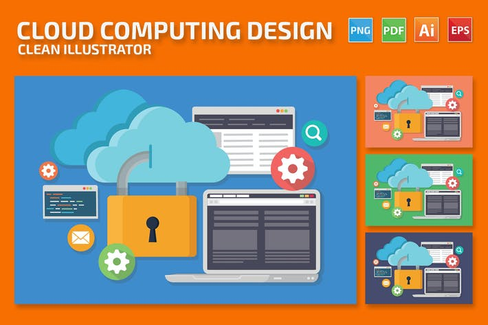 Thumbnail for Cloud-Computing-Entwurf