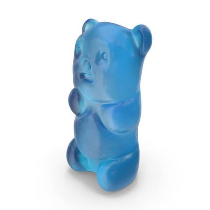 Gummy Bear Candy Blue