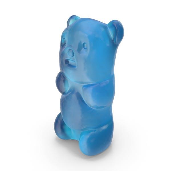 Gummy Bear Candy Blau