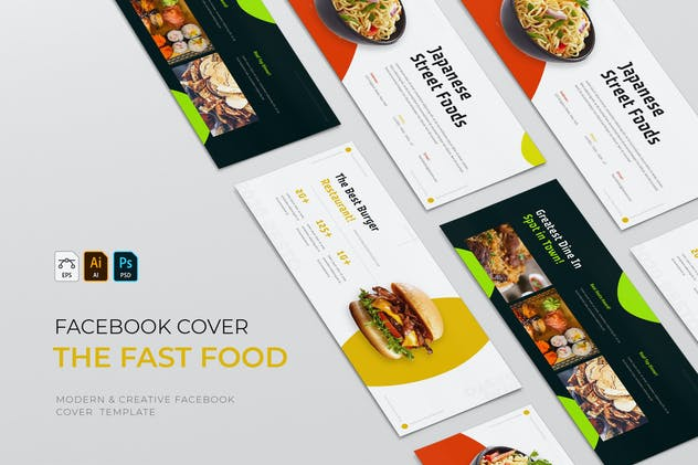 The Fast Food | Facebook Cover