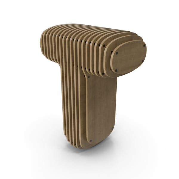 Wood symbol T