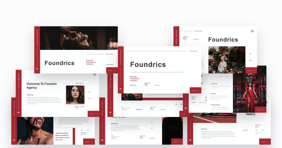 Download Foundrics Business Powerpoint Template by alhaytar