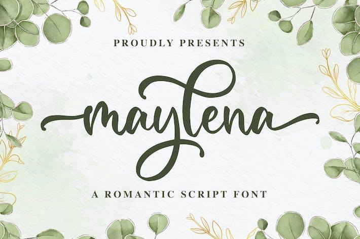 Maylena a Romantic Script Police