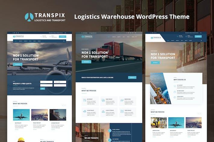 Thumbnail for Transpix - Logistics Warehouse WordPress Theme