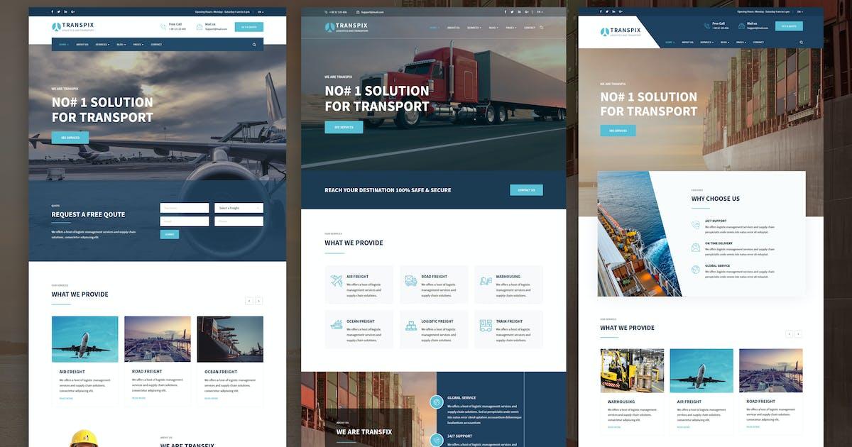 Download Transpix - Logistics Warehouse WordPress Theme by shtheme