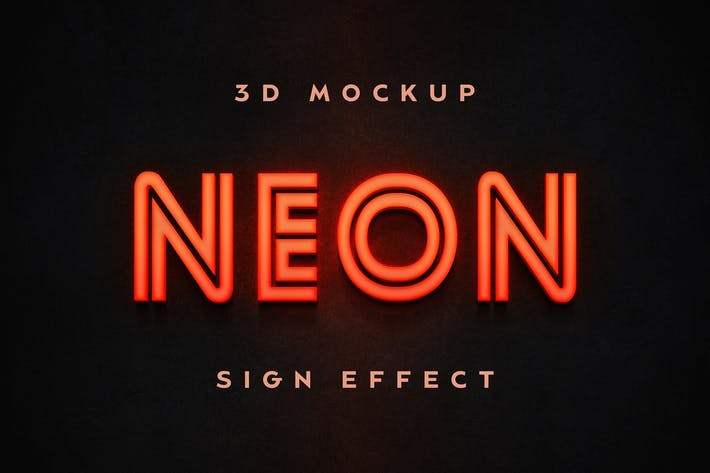 Thumbnail for Neon Sign Effect