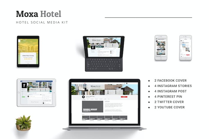 Thumbnail for Moxa Hotel Social Media Kit