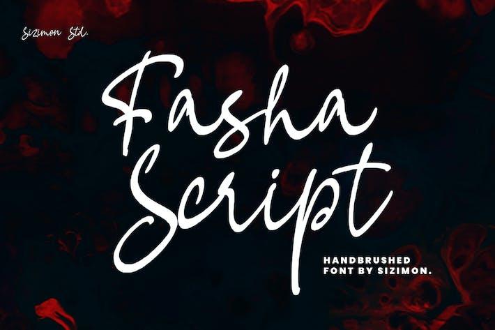Thumbnail for Fasha Script