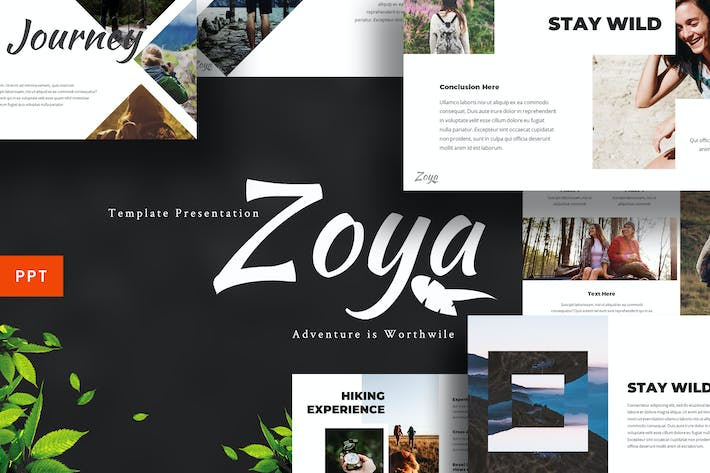 Thumbnail for Zoya - Nature Powerpoint Template