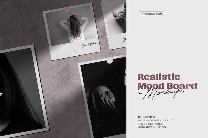 Thumbnail for Moodboard Mockup Kit