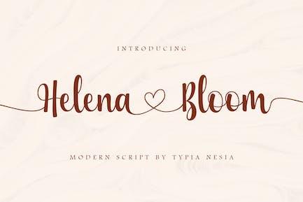 Helena Bloom - Wedding Font