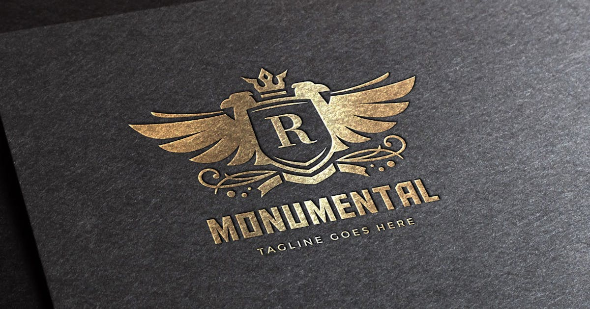 Download Monumental Logo Template by empativo