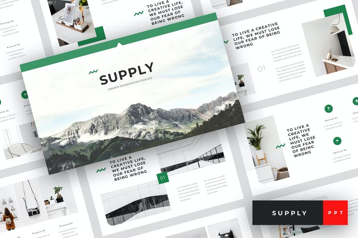 Cover Image For Supply - Creative PowerPoint Template