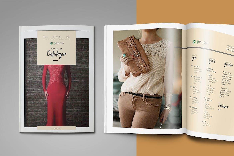 Catalogue-/-Lookbook-Template