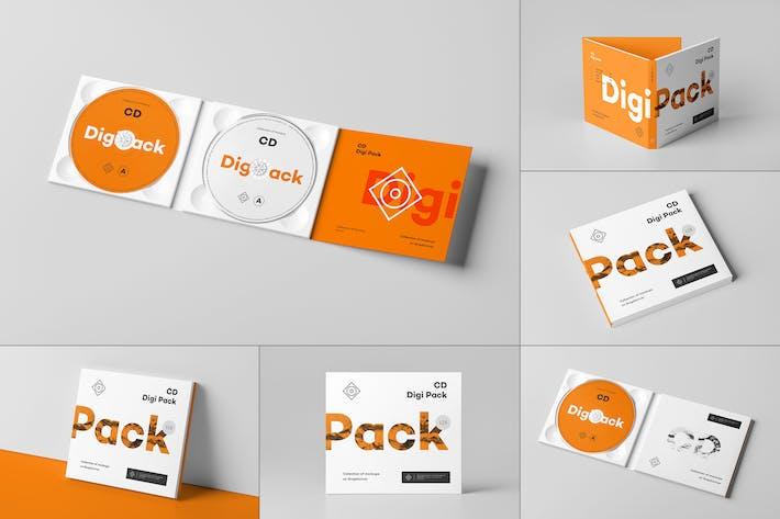 Thumbnail for CD Digi Pack Mock-up 8