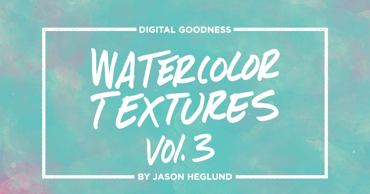 Download Watercolor Textures Vol. 3 by jasonheglund