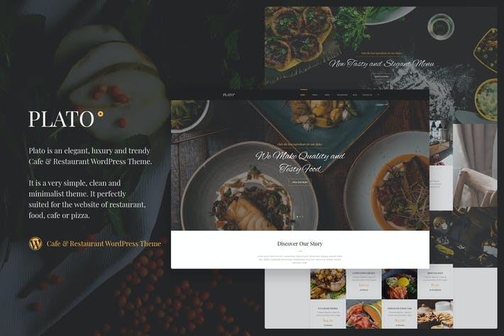 Thumbnail for Plato | Cafe & Restaurant WordPress Theme